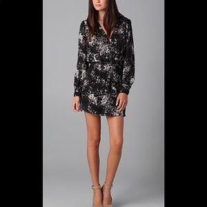 Parker   Silk Faux Wrap Dress